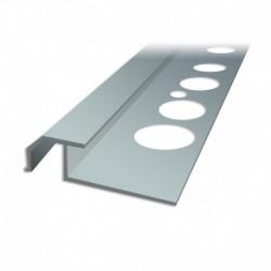 Profil schodowy PC/ SC3 - schody zewnętrzne z okładzinami ceramicznymi