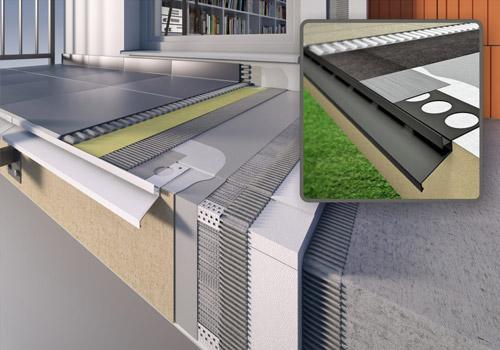 Systemy balkonów i tarasów
